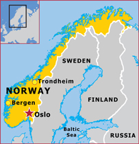 Norway Eurotech Soccer Academies Inc - Where is norway